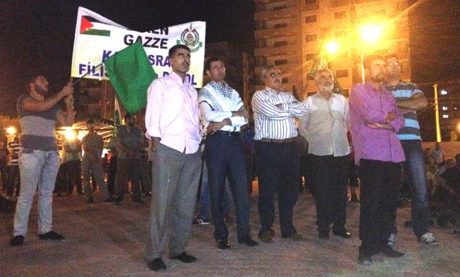 Midyat Gazze İçin Dua Nöbetinde 1