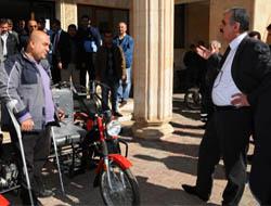 Engelli vatandaşların motosiklet sevinci!