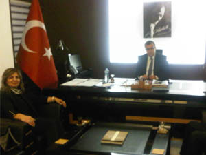 Ak Parti'li Miroğlu'ndan Ziyaret