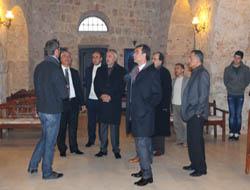 CHP heyeti Süryanilerle görüştü