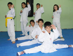 Midyat'ta başarılı sporcular yetiştiriliyor…