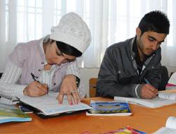 Midyat'ta 'Ödüllü Seviye Tespit' Sınavı