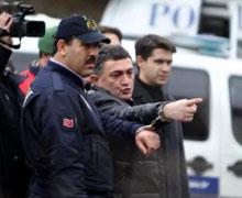 Ayhan Çarkın yer göstermek için İstanbul'a getirildi