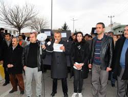 Uludere olayı Midyat'ta Protesto Edildi