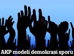 AKP modeli demokrasi sporu...
