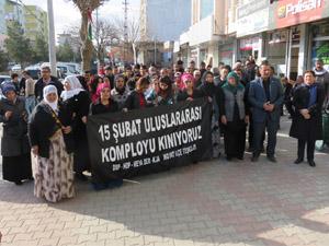 Midyat'ta HDP, DBP ve KJA'dan Basın Açıklaması
