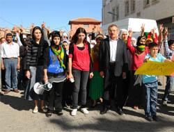 BDP'den Midyat'ta Protesto Eylemi