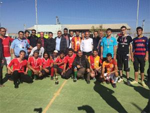Midyat'ta Iraklı Ve Suriyeli Sığınmacılarla Kardeşlik Turnuvası