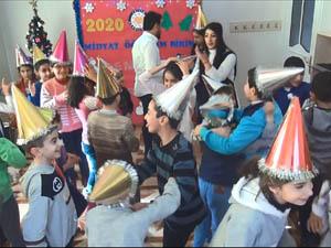 Midyat'ta Çocuklar İçin En Güzel Yeni Yıl Kutlaması