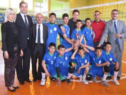 Voleybolda Güneydoğu Anadolu Şampiyonu Oldu