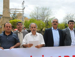 İçişleri Bakanı Şahin'e Midyat'ta Tepki