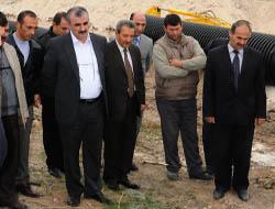 Midyat'ta, dev altyapı hamlesi devam ediyor