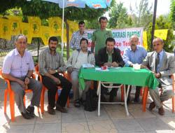 Midyat BDP'de Üye Çalışması