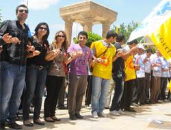 Midyat'taki Öğretmenlerden Davullu-Defli Eylem