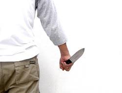 Midyat'ta işyerine Bıçaklı baskın