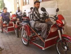 Midyat'ta Engelli Vatandaşlara Motor Desteği