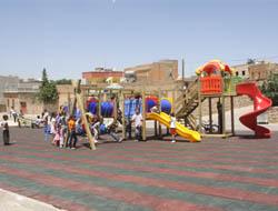 Midyat Belediyesi'nden Park Hamlesi