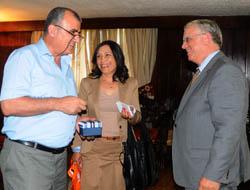 Hollanda'nın Ankara Büyükelçisi Dirkse Midyat'ta