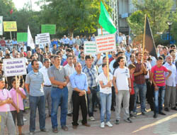 Olay Film, Midyat'ta Protesto Edildi