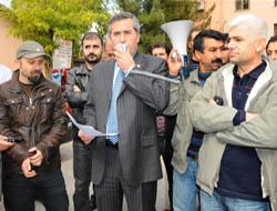 Doktorlara yönelik şiddeti protesto ettiler