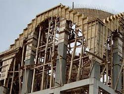 Midyat'ta Cami İnşaatı Çöktü!