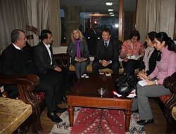 Büyükelçilik Temsilcileri Belediye'yi Ziyaret Etti