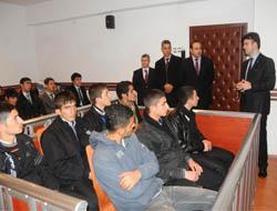 Öğrenciler Midyat Adliyesi'ni Gezdi