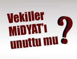 Vekiller Midyat'ı unuttu mu?
