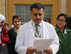 Sağlık çalışanları, 'doktora darp' olayını kınadı