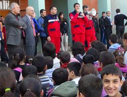 Öğrencilere Sivil Savunma Eğitimi