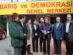 Akademisyenlerden BDP'ye ziyaret