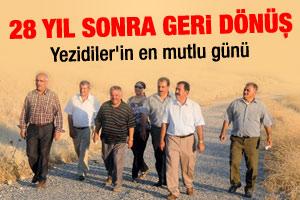Yezidiler geri dönme kararı aldı